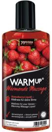 WARMup Strawberry, 150 ml- epres masszázskrém